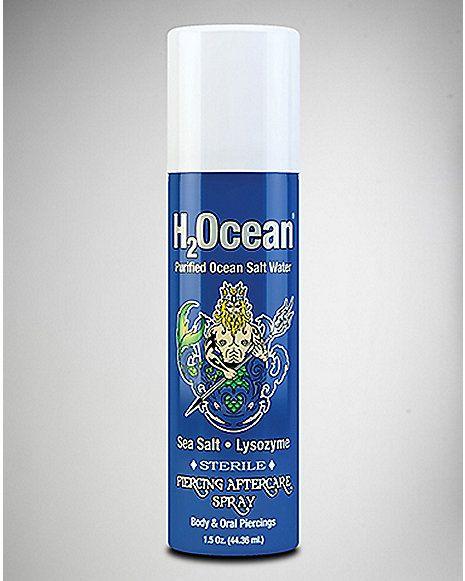 H2Ocean Piercing Aftercare Spray 1.5oz - Spencer's