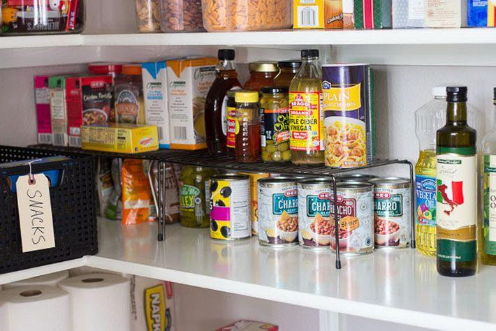 Como organizar os mantimentos nos armários da cozinha | Despensa
