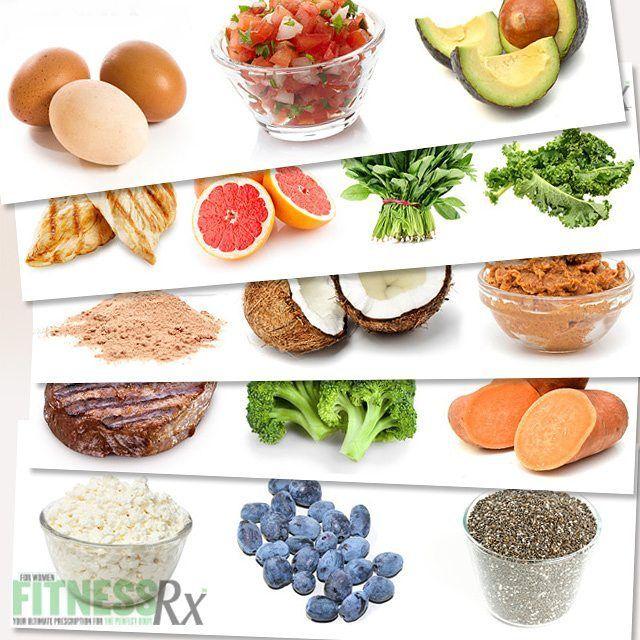 Сочетание продуктов для лучшего метаболизма:  # 1 - яйца, сальса и авокадо - начать свой метаболизм с высоким содержанием белка -# 2 - Цыпленок, грейпфрут клинья, шпината и Kale  # 3 - Молочная сыворотка, кокосовое и миндальное масло-поможет замедлить усвоение белка, держа вас чувство полного дольше до следующего приема пищи.  # 4 - Говяжья вырезка, брокколи и сладкий картофель-помощь в восстановлении после жесткой тренировки! # 5 - творог, Голубика и Чиа Семена - закончить свой день