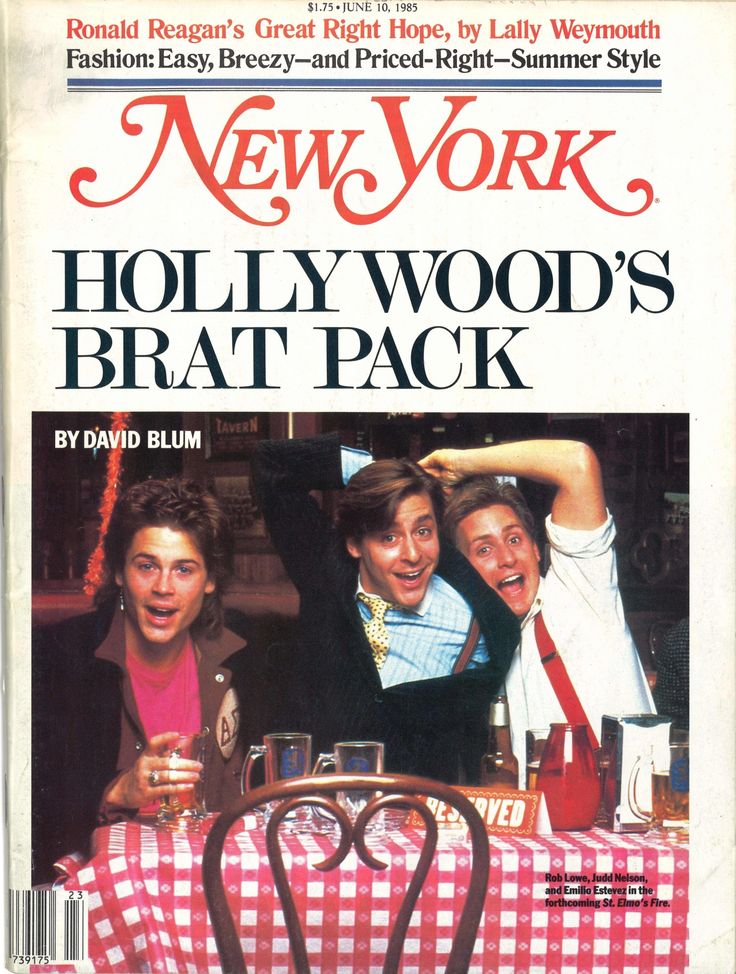 How the Brat Pack got its name — and spoiled celebrity journalism forever - The Washington Post