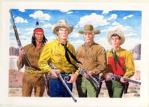Tex Willer and pards