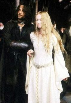 Aragon and Eowyn