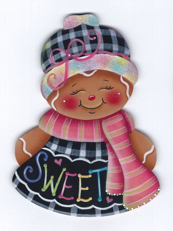 Ginger Sweet Gingerbread Painting E-Pattern por GingerbreadCuties