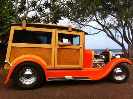 1929 Ford Model A 1929 FORD WOODY WAGON STREET ROD For Sale | OldRide.com