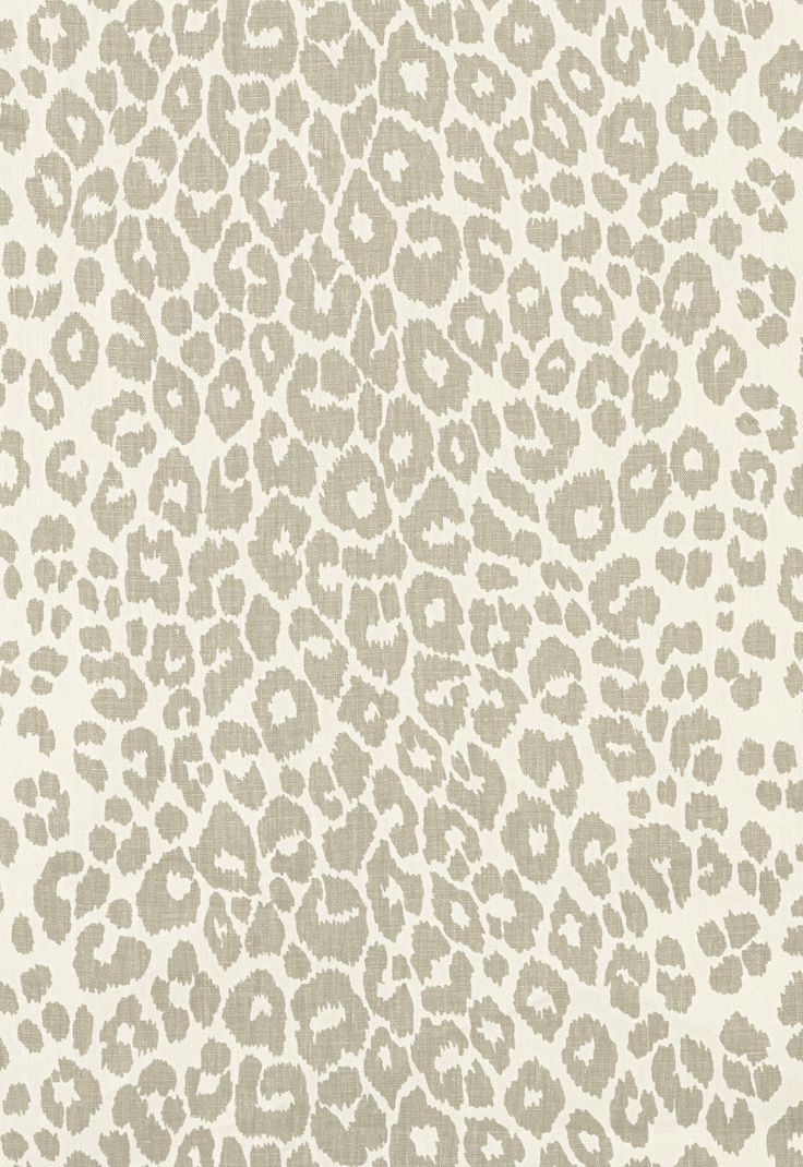 Iconic Leopard in Linen | 125th Anniversary Collection | Schumacher