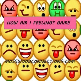 Recognizing and showing feelings is difficult for some children. This game deliberately mismatches the words to the feelings so that one needs to pay attention to the facial expression, body language and tone in order to correctly guess the feeling.