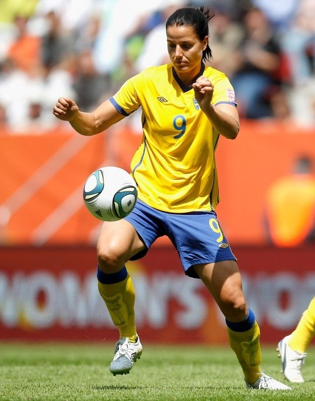 Jessica Landström — Soccer — Sweden.   Landström scored a decisive goal in the 2011 Women's World Cup against Columbia, but spent most of the team's run to third place coming off the bench. The London Olympics will be her first.
