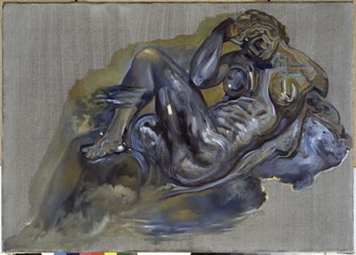 Senza titolo. Notte dalla tomba di Giuliano de' Medici di Michelangelo