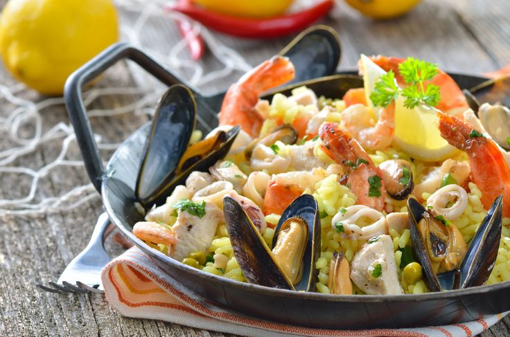 Super easy paella recipe