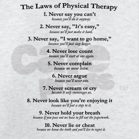 The Laws of PT... I want this t-shirt!
