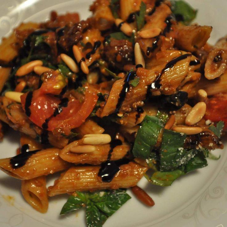 Rezept Mediterraner Nudelsalat von Missy Freckles - Rezept der Kategorie Vorspeisen/Salate