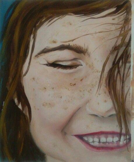 Caelyn Eades. Oil paint.