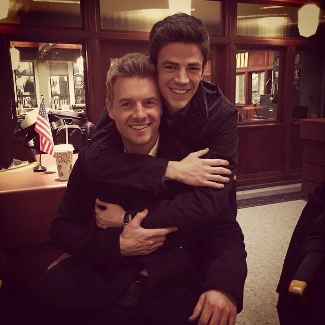 Always Grant is the guy that love's hugs, but I love him like that☺️