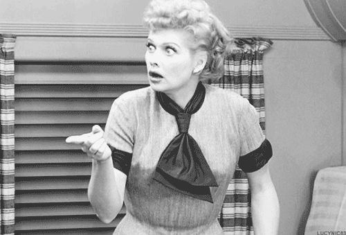 Lucille Ball #I Love Lucy #The Great Train Robbery