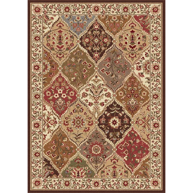 Alise Traditional Ivory Abstract Area Rug 76 X 910 By Rugs