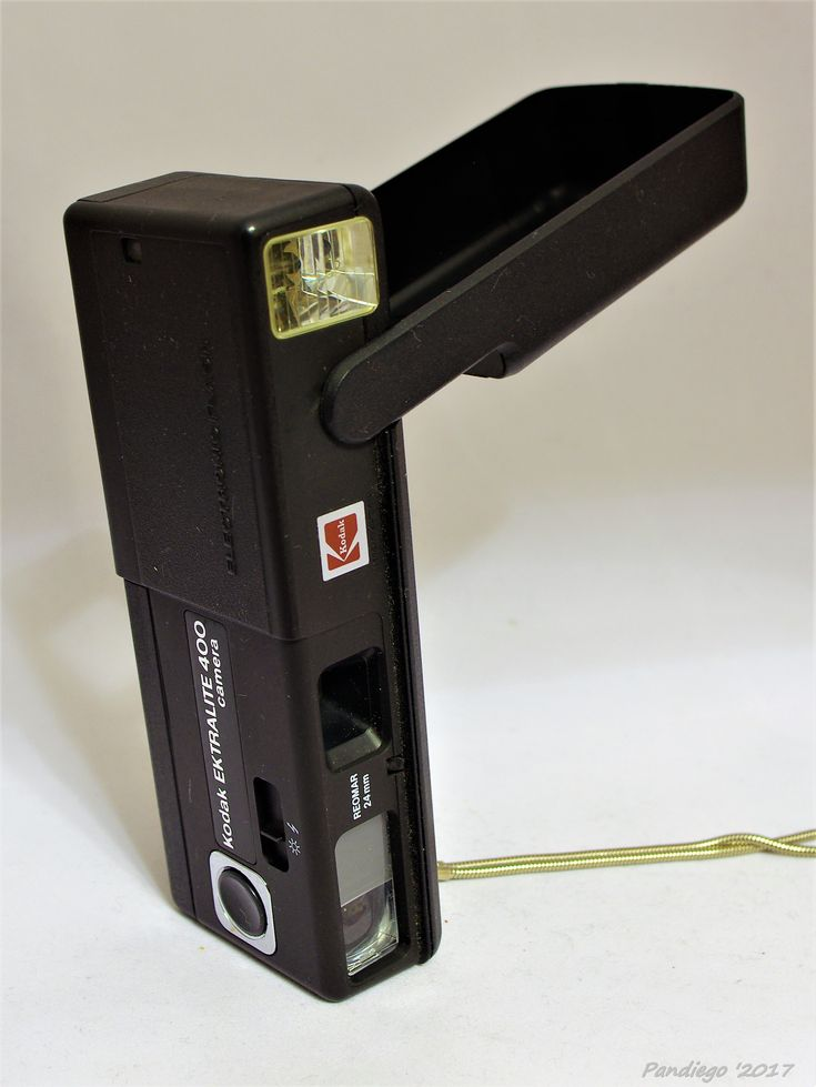 Kodak Ektralite 400 (1981) - 110 cartridge pocket camera