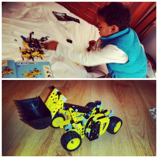 Son and his #Lego builds #LegoTechnic