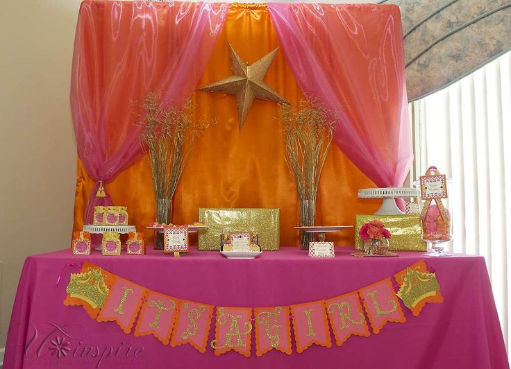 Princess Moraccan Baby Shower Party Ideas