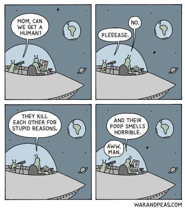 These Webcomics By War And Peas Are Deliciously Evil | Dark humor comics,  Funny comics, Comics