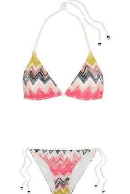 Missoni - Crochet-knit Bikini ...