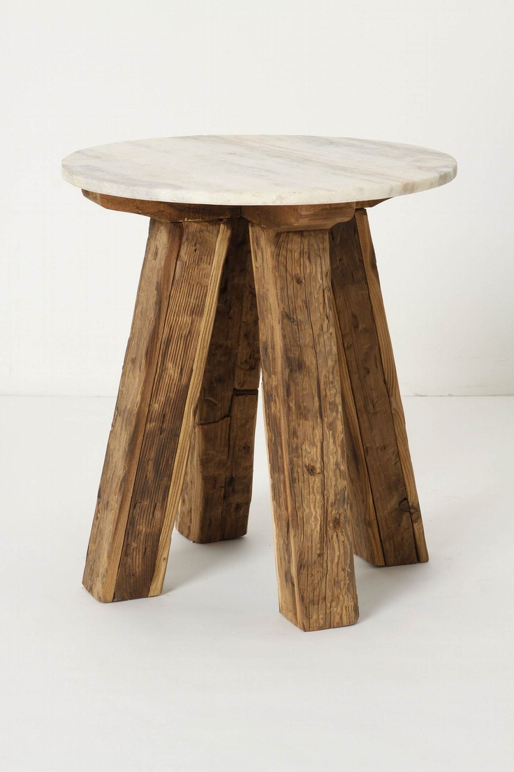 Superior Genova Side Table. I Am Going To Try Making Something Like This! Great Ideas