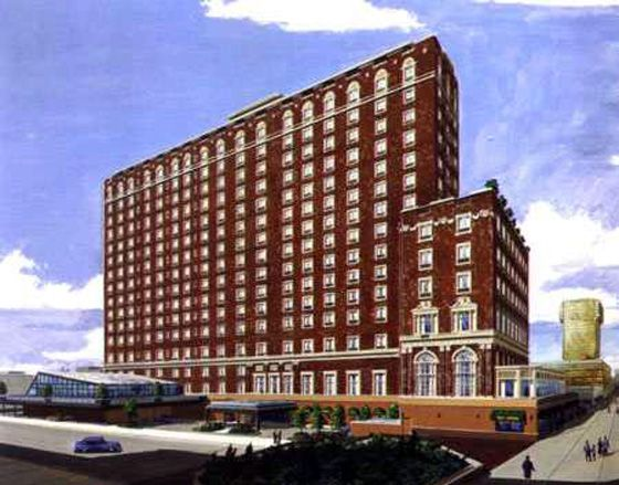 The 600 Room Ritz Carlton Hotel Opened In 1921 At Iowa Avenue And Boardwalk