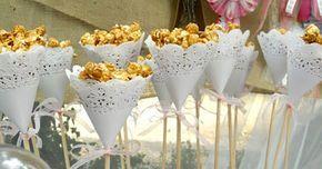 Ideas para servir palomitas de maiz en una fiesta de manera original