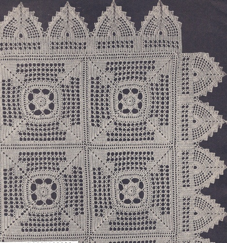 198 best filet crochet images on pinterest lace crochet edgings vintage crochet pattern motif bedspread meadow daisy filet meadowdaisybedspread dt1010fo