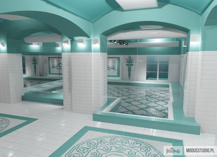 Basen Dom Zdrojowy projektowanie wnętrz