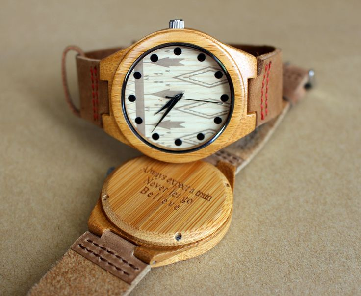 Personalized Wood Watch Engraved wooden watch engraved wood watch women watch
