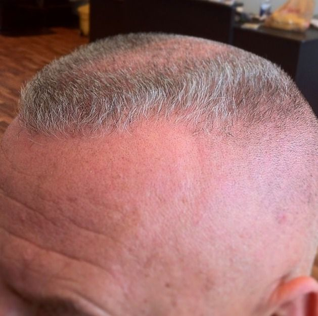 Outstanding gray-haired high and tight flattop | Things to ...