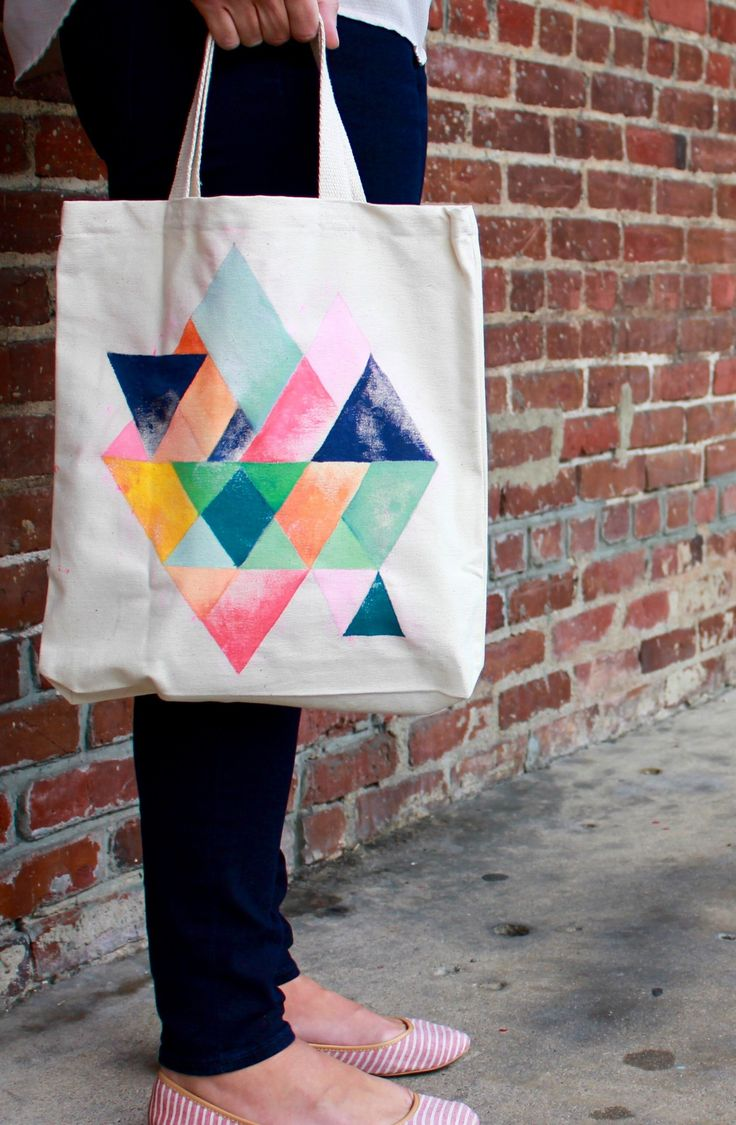 What Will Your Personalized Tote Bag Look Like When You Hit The Town? #diy #projects