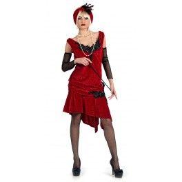Disfraz de charlestón brocado deluxe: comprar online