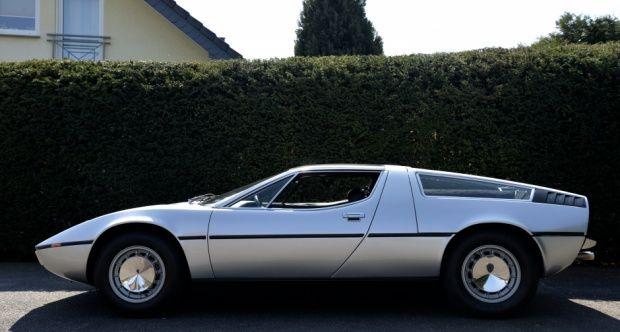 1975 Maserati Bora - 4,9