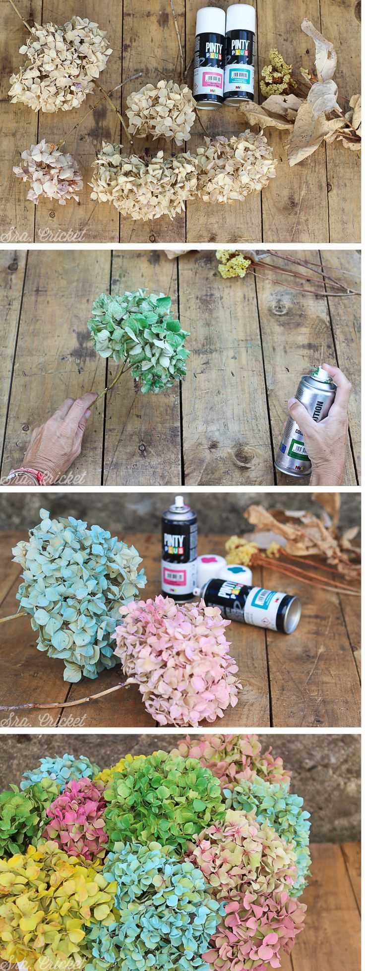 tutorial pintar flores con spray Clip In Extensions, Room Deco, Decoration Plante, Rustic Crafts, Ikebana, Christmas Projects, Plant Decor, Dried Flowers, Mother Nature