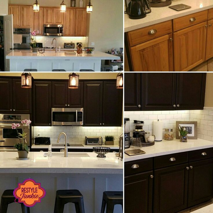 22 Best Cabinet Refinishing Images By Restyle Junkie On