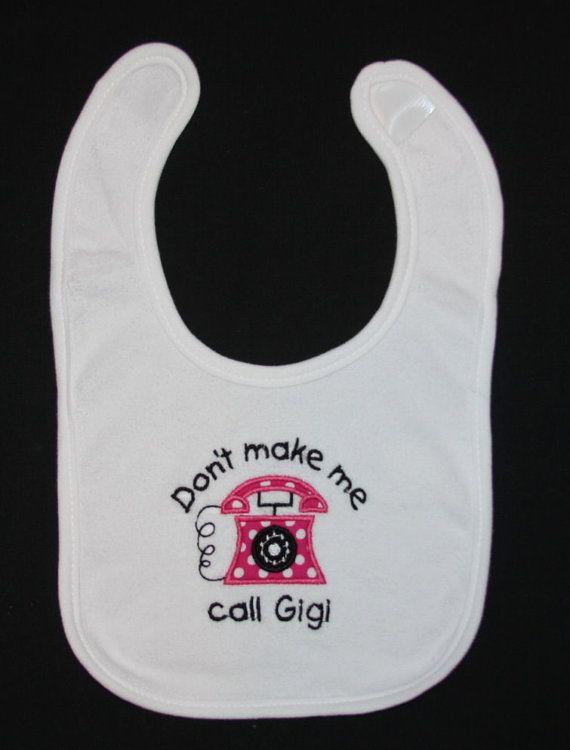 Gigi embroidery design by SoSewSimplySweet on Etsy, $13.00