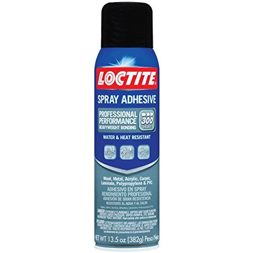 Loctite Professional Performance Spray Adhesive 13.5-Fluid Ounce Aerosol Can (1629134) #Loctite #Professional #Performance #Spray #Adhesive #Fluid #Ounce #Aerosol