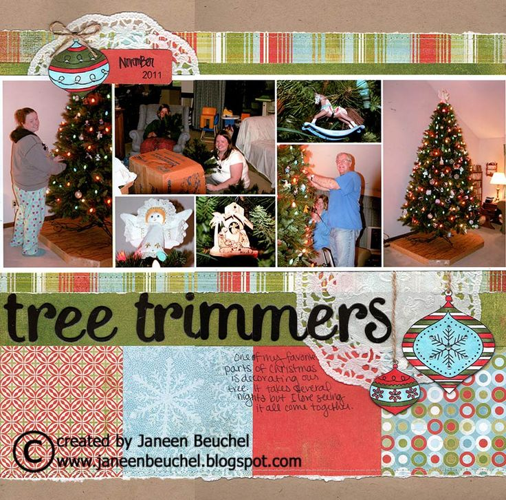 this is an old Basic Grey Xmas line---Tree Trimmers - Scrapbook.com