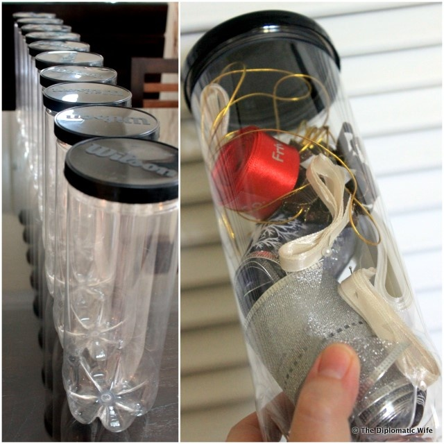 Crafts With Empty Tennis Ball Containers