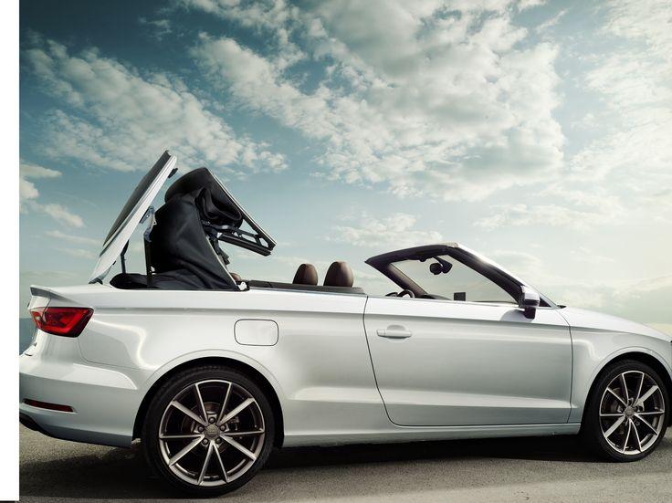 Open up #Audi #A3 Convertible