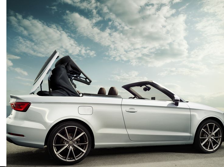 Open up #Audi #A3 Convertible