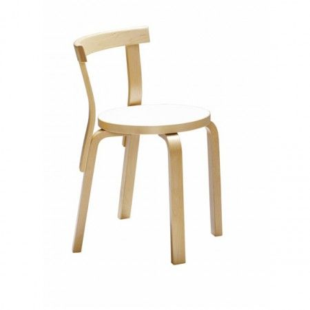 68 Chair in birch by Artek at Anibou