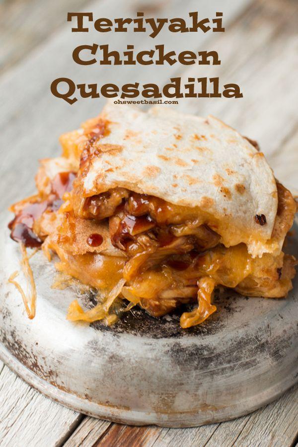... Quesadillas Recipe, Chicken Quesadillas, Sweets Basil, Weeknight Meals
