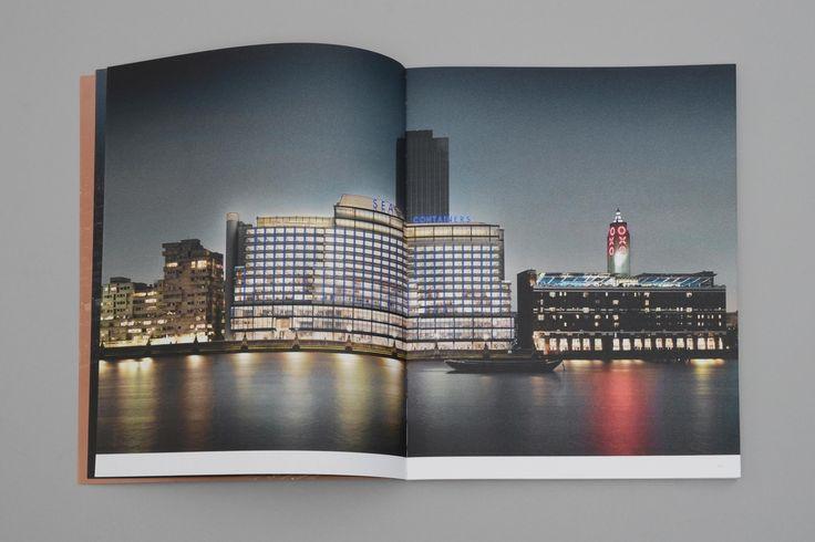 Sea Containers. Rebranding a London landmark. Brochure double page spread - dn&co.