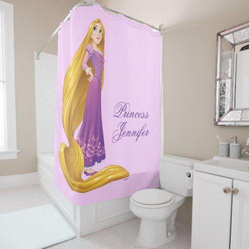 Rapunzel | Princess Power Shower Curtain