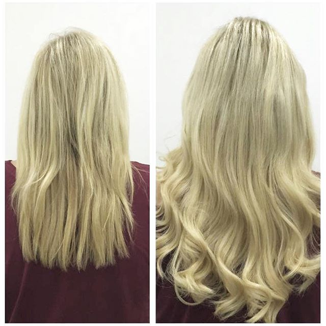 Blonde Fusions Fusionextensions Hairextensions Hairoftheday