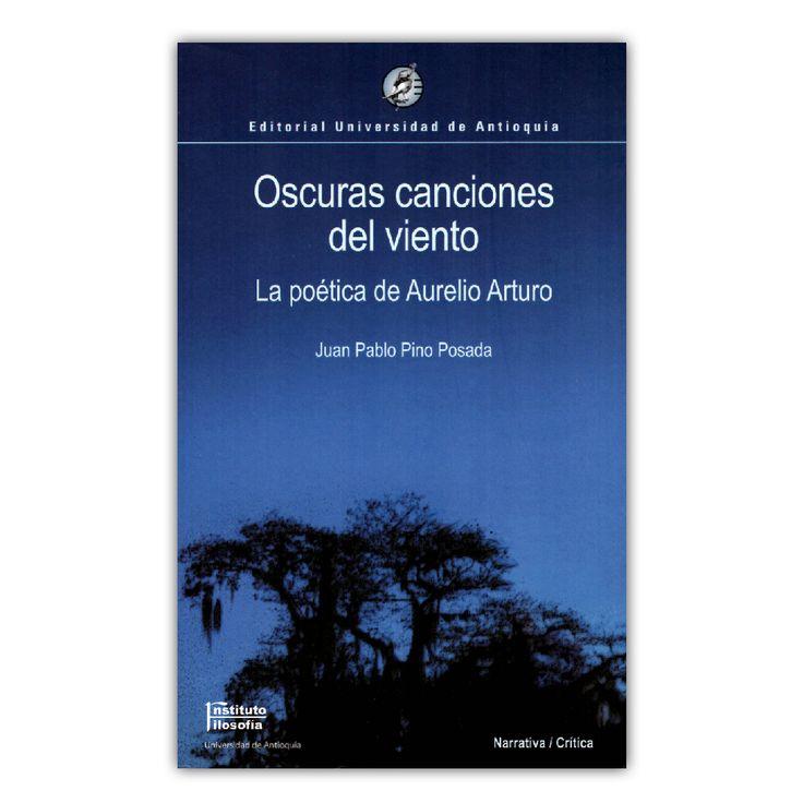 Oscuras canciones del viento – Juan Pablo Pino Posada – Universidad de Antioquia www.librosyeditores.com Editores y distribuidores.