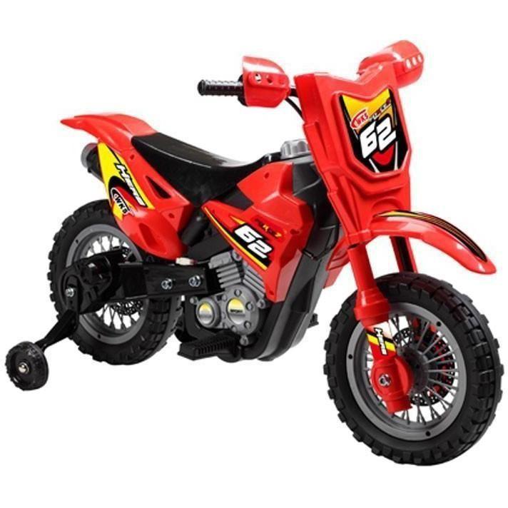 Mini Motos Dirt Bike 6v Red Ride On