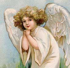 Darling Vintage Easter Angel Girl!